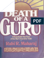 Death of a Guru -- Rabbi R. Maharaj