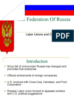 The Federation of Russia Power Point Slides Revised222[1]