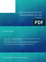 Role of NSAIDs on the Development of PUD