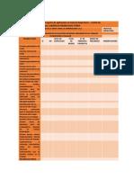 Lista de Evaluacion de Chequeo