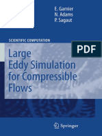 large eddy simulation for compressible flows[Garnier, Adams, Sagaut].pdf