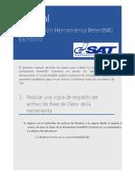 Manual Reinstalación RetenISR2
