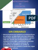 Yacimientos Metasomaticos de Contacto (2) Capitulo 3