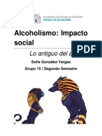 Lo Antiguo Del Alcoholismo