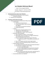 1_31_19 Dean's Forum Minutes