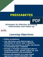 Prediabetes - Time to Act   Prediabetes   Diabetes Mellitus