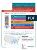 Ending the Hiv Epidemic Fact Sheet