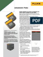 Hoja de Datos Fluke-1550c Fc y Fluke-1555 Fc
