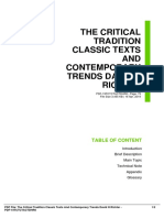 ID9f68127f2-the critical tradition classic texts and contemporary trends david h richter