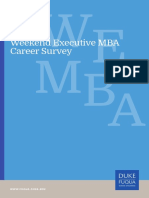 Duke Weekend Executive Career Survey 2017