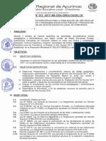 DIRECTIVA  N° 012-2017 NORMAS Y ORIENTACIONES FINALIZACIÓN DEL AÑO ESCOLAR UGEL CHINCHEROS