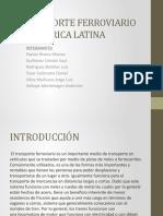 Transporte Ferroviario en America Latina