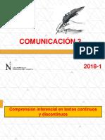 PPT - Comprensión Inferencial en Textos Continuos y Discontinuos(1)