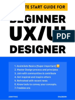 Ultimate Start Guide for Beginner UX_UI Designer on 2019