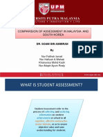 Assessment in South Korea
