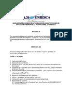 Acta - Asamblea 2018