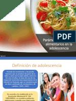 Parametros normales alimentarios1