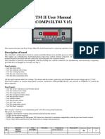 Easytronic Micro II (2012 Revision15) Controller