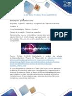 Presentación del curso Estadística Descriptiva