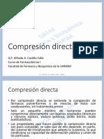 2019-I Farmacotécnia I - Clase 06 (Compresión Directa) (1)