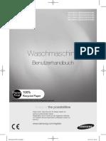Benutzerhandbuch Samsung Waschmaschine