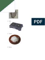 Materiales y Procedimiento
