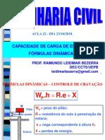 Aula 22-23-10-2018_Fórmulas Dinamicas