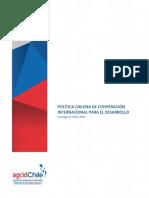 Politica de Coop Para El Desarrollo 26nov15