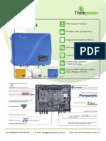 Thinkpower on Grid Inverter 6.0kW Datasheet