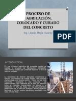 Clase Proceso de Elaboracion Del Concreto
