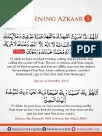 Evening Azkar