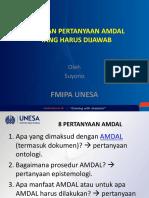 8 Pertanyaan AMDAL.ppt