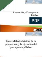 Planeación y Presupuesto