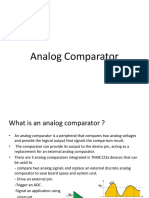 Analog Comparator