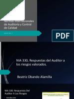 Presentacion NIA 330 audi