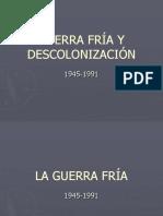 Guerra Fría y Descolonización