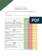 lm 5030 unit 2 website eval checklist
