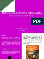Diferencias y Semejanzas Entre Psiquiatria y Psicología