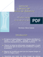 Concurso a Jefatura Servicio Obstetricia 2014