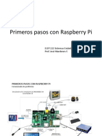 Primeros Pasos Con Raspberry Pi