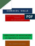 Ingeniero Gilberto Saa Navia Habilidades de Negociación en La Ingeniería y Cosntrucción