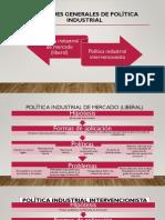Enfoques generales de la política industrial