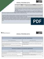 Annual Program 2018 IIIº Grade.docx