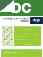 Partido Demócrata Cristiano de Honduras