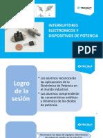 S3 Interruptores Electronicos, Dispositivos de Potencia