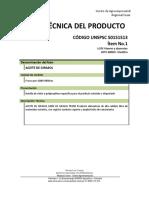 Fichas Tecnicas Agroindustria 2019 9 de Mayo de 2019