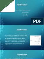 DIAPOSITIVAS ANTIBIOTICOS MACROLIDOS