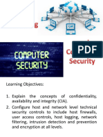 3 Networking and Computer Security
