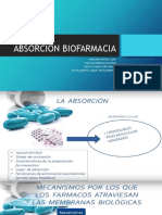 ABSORCION BIOFARMACIA