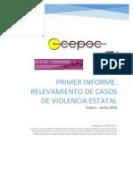 Primer Informe - RECAVE - Enero Junio 2016 Final